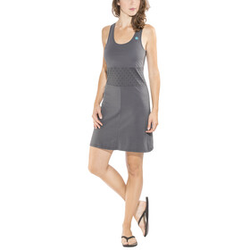 E9 Andy Solid - Robe Femme - gris